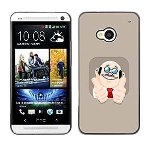 Dragon Case - FOR HTC One M7 - Wherever you go - Caja protectora de pl??stico duro de la cubierta Dise?¡Ào Slim Fit