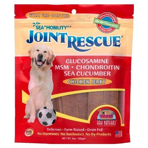 Sea Mobility, Joint Rescue, Chicken Jerky, 9 oz (255 g) by Ark Naturals ( Multi-Pack) by Gulf Coast Nutritionals/Ark Naturals
