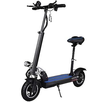 LOLOP Bicicleta eléctrica Aleación de Aluminio sin Cadena ...