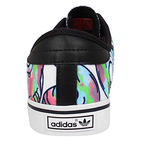 Adidas Men's Seeley, SKULL-WHITE/BLACK/RED, 9.5 M US