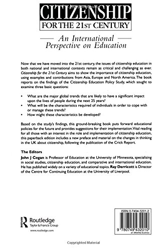 Citizenship For The 21st Century An International Perspective On