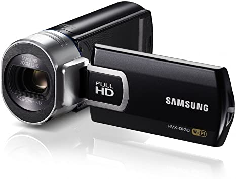 Samsung QF30 - Videocámara (5.1 MP, Pantalla de 2.7