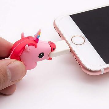 RipengPI Mignon Insecte Forme de C/âble de Chargeur USB Couverture de Protection de la Ligne de Donn/ées en Silicone Souple C/âble Protecteur Pour iPhone SmartPhone Cordon Accories NA