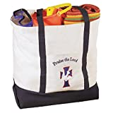 Praise the Lord Large Tote Bag - 4/PK