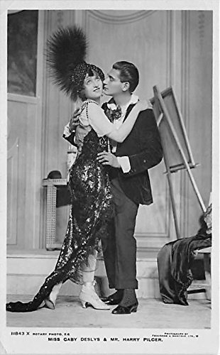 Blunder Gaby Deslys & Mr Harry Pilcer Theater Actor / Actress Postcard