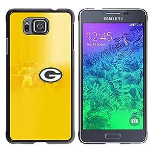 EJOY---Cubierta de la caja de protección la piel dura para el / Samsung ALPHA G850 / --GRAMO