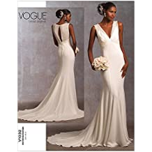 Vogue Pattern 1032 Misses Wedding Dress Size 6-8-10