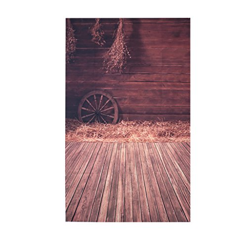 SCASTOE Photography Background Wooden Wall Floor Warehouse Old House Backdrops Computer-printed Seamless Background Studio Props