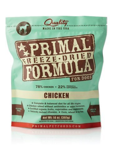 Primal Freeze-Dried Nuggets Chicken Formula for Dogs 28oz (2 x 14oz) (Best Frozen Chicken Nuggets Brand)