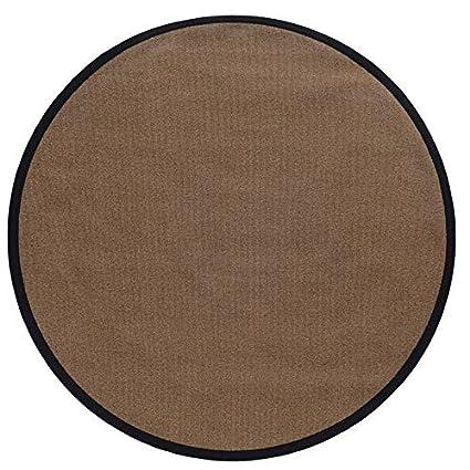 Amazon.com: Linon Mcclure - Alfombra de área marrón/negro (8 ...