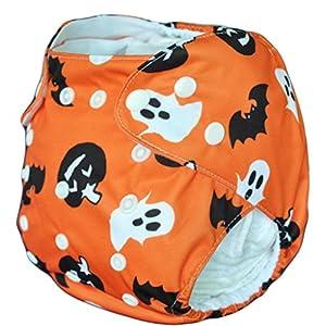 ALVABABY Swim Diapers 2pcs Reusable & Adjustable Baby...