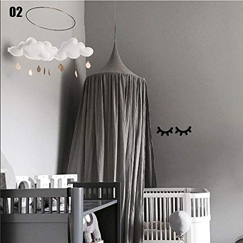 Princess Canopy Bed Curtains - Home Play House Tents Foldable Princess Canopy Bed Curtain Crib Netting Hung Dome Children Room - Canopy Curtains Princess ()