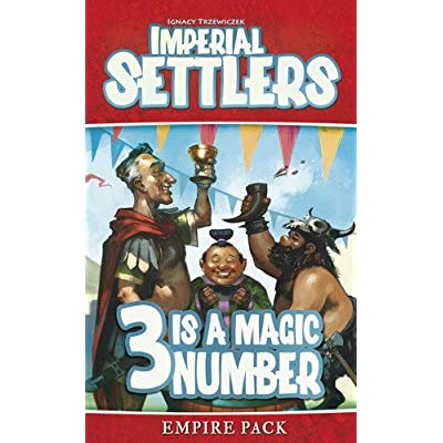 Imperial Settlers 3 is A Magic Number Board Game: Toys & Games
