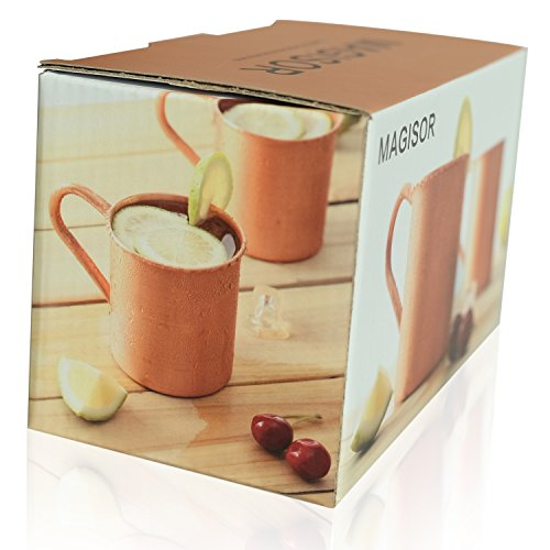 Magisor 100% Pure Copper Moscow Mule Mug (Set Of 2)(14.5 OZ) by Magisor (Image #5)