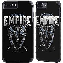 Official WWE Roman Empire Roman Reigns Gold Gripper Case for Apple iPhone 7 Plus / iPhone 8 Plus