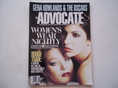 (The Advocate (Issue No. 625, March 23, 1993): The National Gay and Lesbian Newsmagazine (Magazine) (Lesbian Loungewear Cover Story) )
