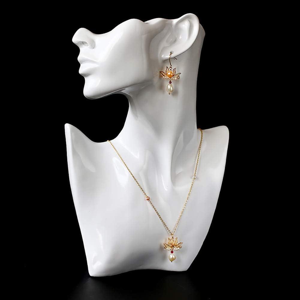 Deykhang Feng Shui Zen Lotus joyería Pendientes del Collar de la Perla Natural del Granate de Oro llenas Antigua Zen Estilo de meditación pacífica Yoga para la Mujer,3in1 Full Set