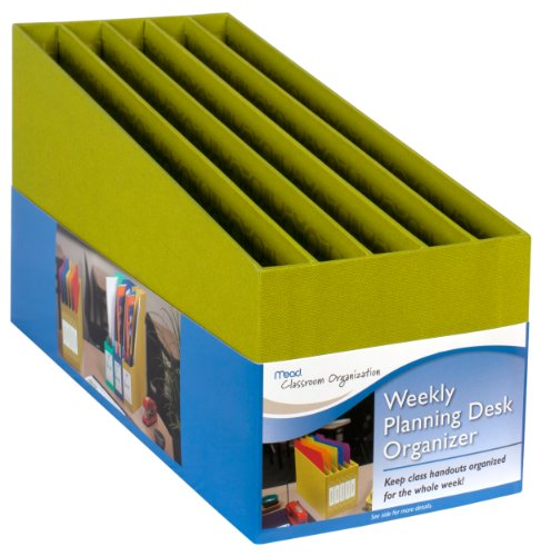 Mead Weekly Planning Desk Organizer, Green (Mead Desk Organizer)