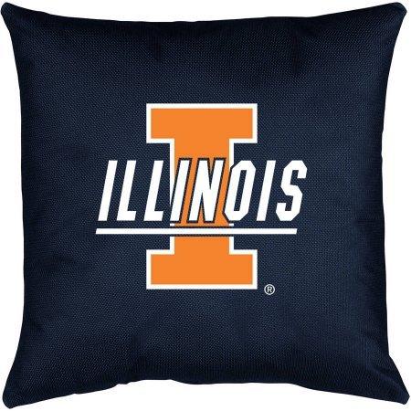 University Locker Room Pillow (NCAA University of Illinois Locker Room Toss Pillow)
