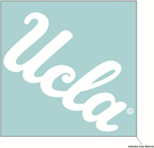 Wincraft NCAA UCLA Bruins 6 x 6 inch White Decal