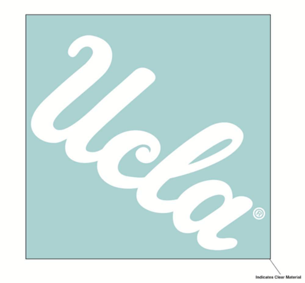 Wincraft NCAA UCLA ブルーインズ 6 x 6インチ ホワイトデカール