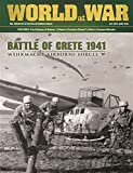DG: World at War Issue #47, with Crete 1941 Boardgame
