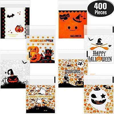 Amazon.com: 400 bolsas autoadhesivas para dulces de ...