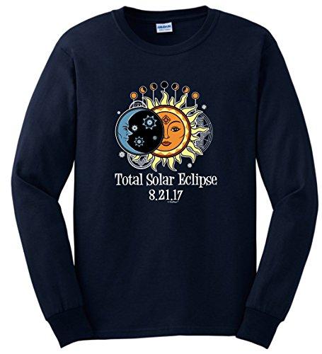 Solar Eclipse Sunglasses Total Solar Eclipse 2017 Solar Eclipse Viewing Long Sleeve T-Shirt XL - Sunglasses Solar 2017 Eclipse