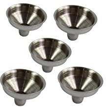 OPPOHERE Stainless Steel Mini Funnel for Essential Oil Bottles / Flasks (5PCS)