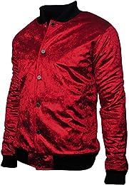 Amazon.com: Red - Varsity Jackets / Lightweight Jackets: Clothing