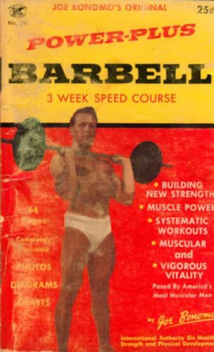 Power-Plus Barbell Three Week Speed Course