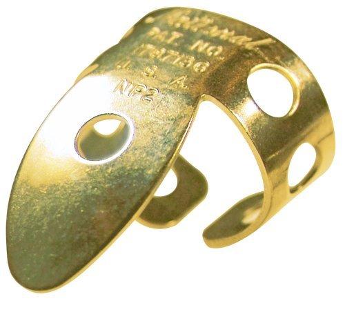 National NP-2G-2PK Finger Picks - Gold - 2 Pack
