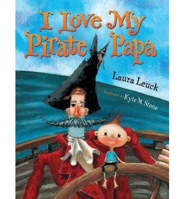 I Love My Pirate Papa (CD & Paperback ()