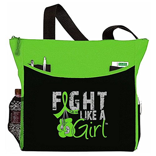 Fight Like a Girl Boxing Glove Tote Bag