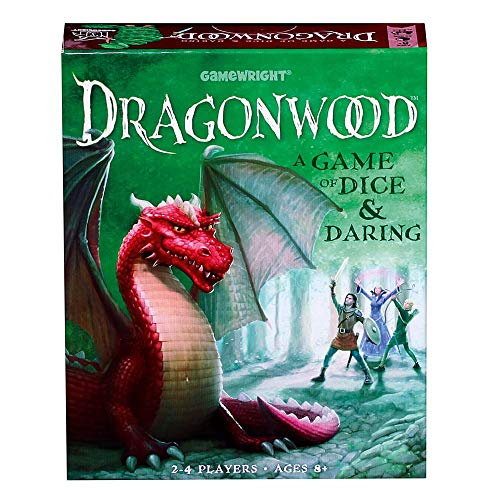 Dragonwood A Game of Dice & Daring Board Game (Dragon Games For Kids)
