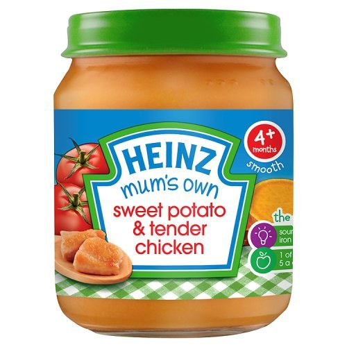 Heinz Mum's Own Sweet Potato and Tender Chicken for 4 + Months, 125 g 106465210