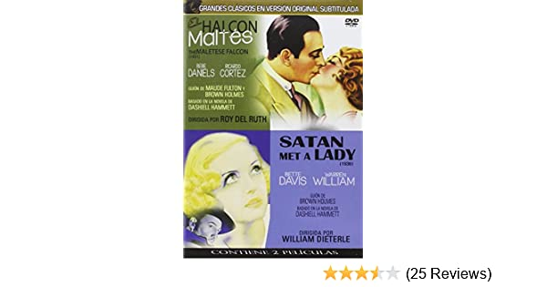 Amazon.com: El Halcón Maltés 1931 & 1936 Clásicos En V.O.S. (Import Movie) (European Format - Zone 2) (2013) Bebe Danie: Movies & TV
