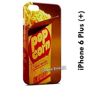 Carcasa Funda iPhone 6 Plus (iPhone 6+) PopCorn Time Protectora Case Cover