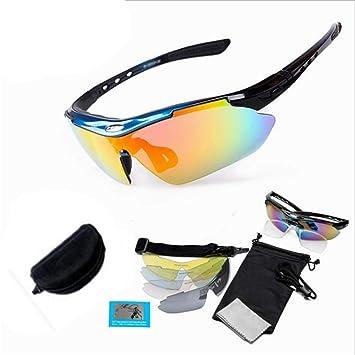 c1132f3b96 ChenYongPing Gafas de Sol polarizadas Deportivas Gafas de Sol Deportivas  polarizadas Pesca al Aire Libre Senderismo Gafas de Golf Hombres y Mujeres  Lente +5 ...