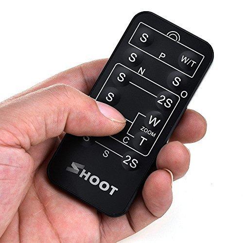 Shoot T/él/écommande infrarouge sans fil universelle d/éclencheur pour Nikon//Canon//Pentax//Konica//Minolta//Sony