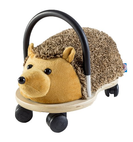 Prince Lionheart Wheely Bug Plush Toy, Hedgehog, Small (Best Toys For Hedgehogs)