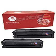 Toner Kingdom 2 Pack Compatible Toner Cartridge for Samsung MLT-D101S for use in Samsung ML-2160 ML-2165 ML-2165W SCX-3400 SCX-3400F SCX-3400FW SCX-3405 SCX-3405F SCX-3405FW SCX-3405W SF-760P -Black