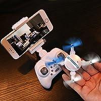 Flying Camera, Aobiny Mini RC Quadcopter 2.4GHz 4CH 6-Axis Gyro 3D UFO Drone FPV WIFI Nano Camera (White)