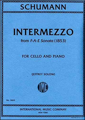 Read Online Schumann: Intermezzo, from F-A-E Sonata - Cello pdf epub