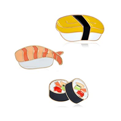 Set de pin esmaltado (3 unidades) sushi set xsr