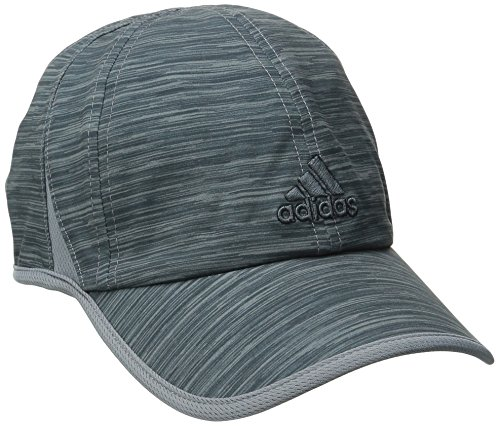 adidas Men's Adizero II Cap, Grey Space Dye Print, One Size Print Spandex Hat