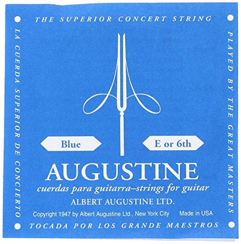 Augustine AUBL6 Nylon Classical Guitar String, Light (1 string per (Augustine One Light)