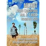 Mozart: Violin Concertos 3-5 & Adagio in E K 261