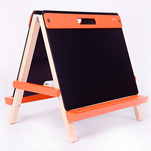 Mont Marte Deluxe Standing tabletop kids easels, Red