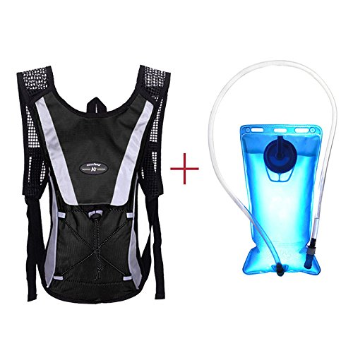 bbfb70d556b0 Glumes Hydration Pack,Water Backpack 2L Free Bladder Perfect Running  Cycling Camping Hiking Climbing Pouch